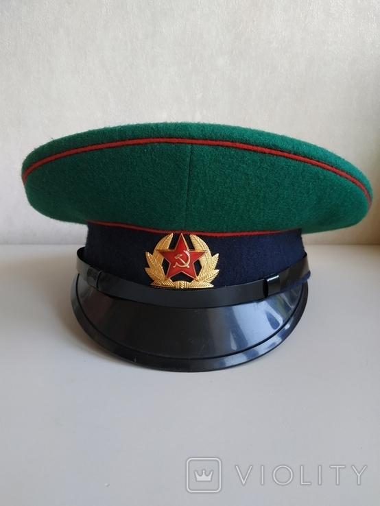 Фуражка пограничника ПВ КГБ СССР, фото №9