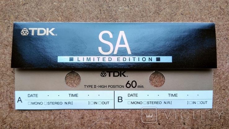 Касcета TDK SA limited edition, фото №11