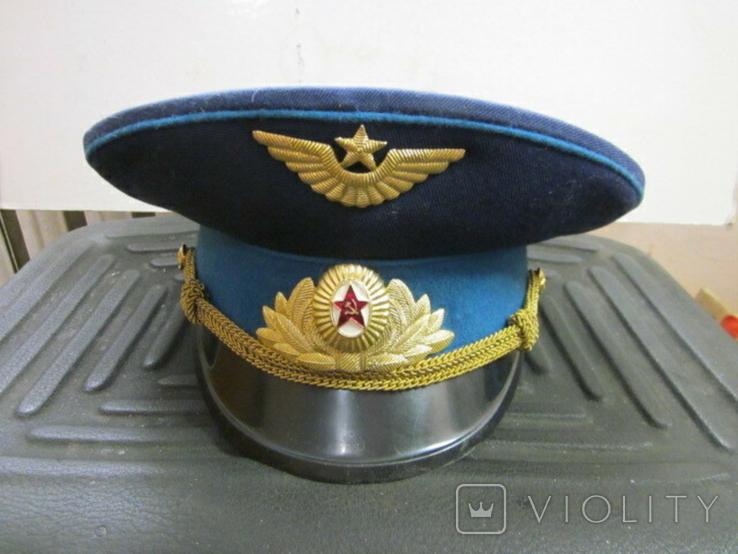 Фуражка летчика СССР, фото №2