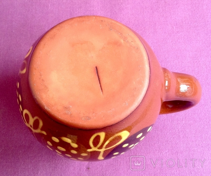 Кружка Фантазия. Поливная керамика., фото №6