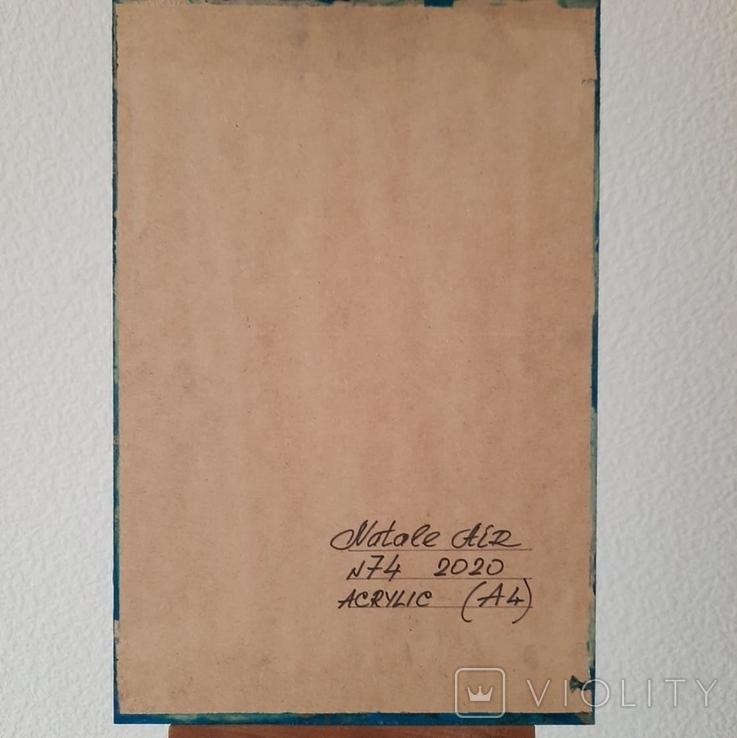 Картина/ живопис/ абстракція Fluid Art #74 acrylic, фото №13