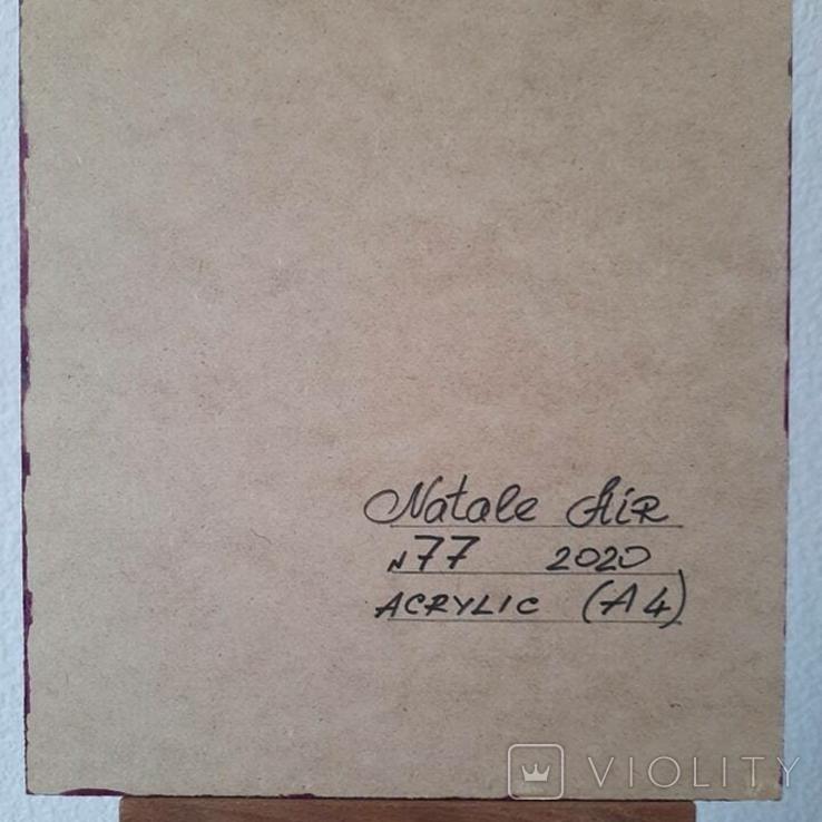 Картина/ живопис/ абстракція Fluid Art #77 acrylic, фото №13