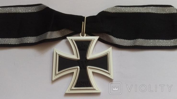 Копия Большой Рыцарский крест железного креста 1870, фото №3