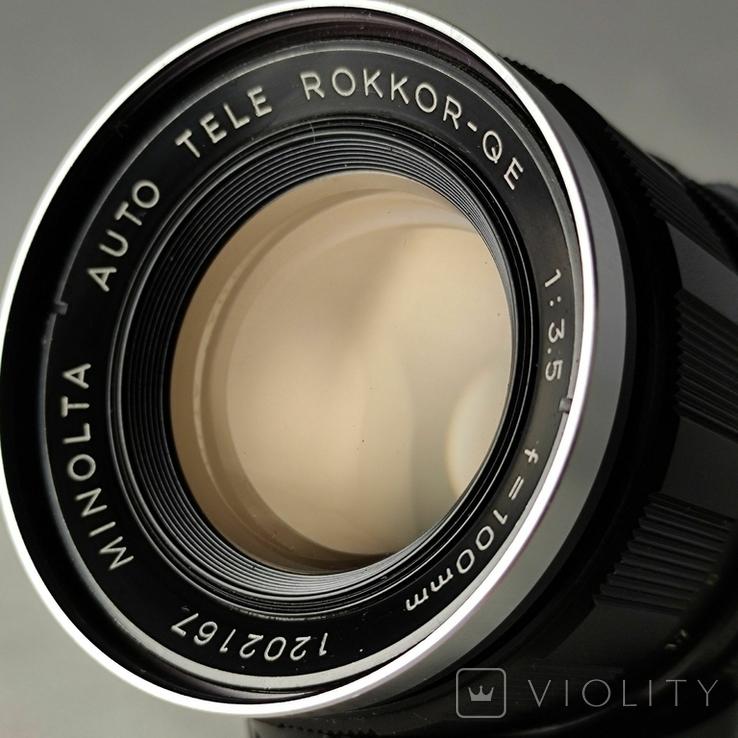 Minolta Auto Tele Rokkor-QE f3.5/100mm., фото №9