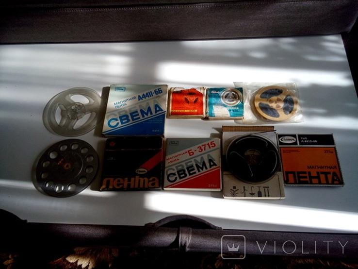 Бобинны со старыми записями (8шт. +), фото №2