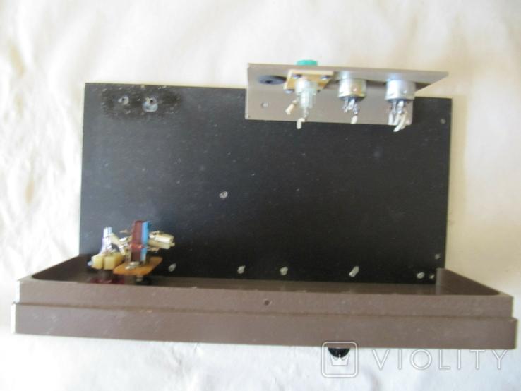 Корпус с шасси из литого алюминия для монтирования в нем разных радиосхем., фото №6