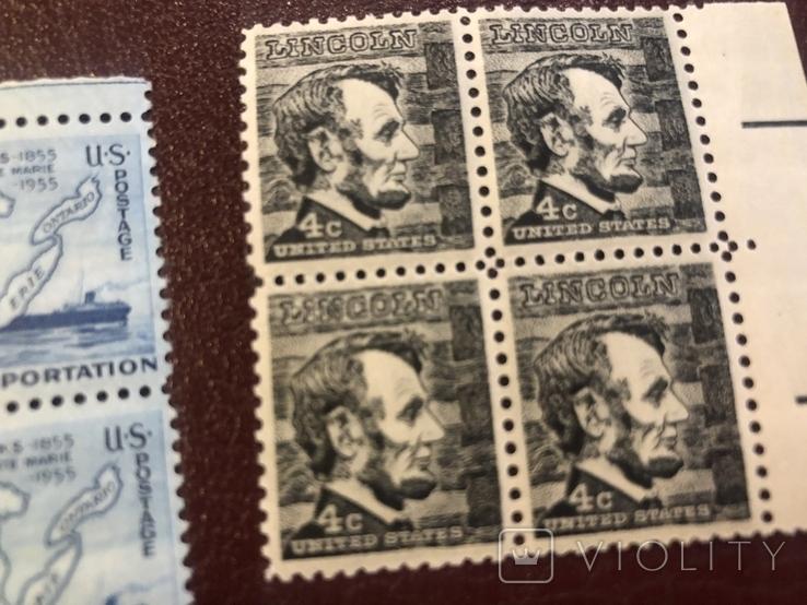 Сцепки марок США., фото №7
