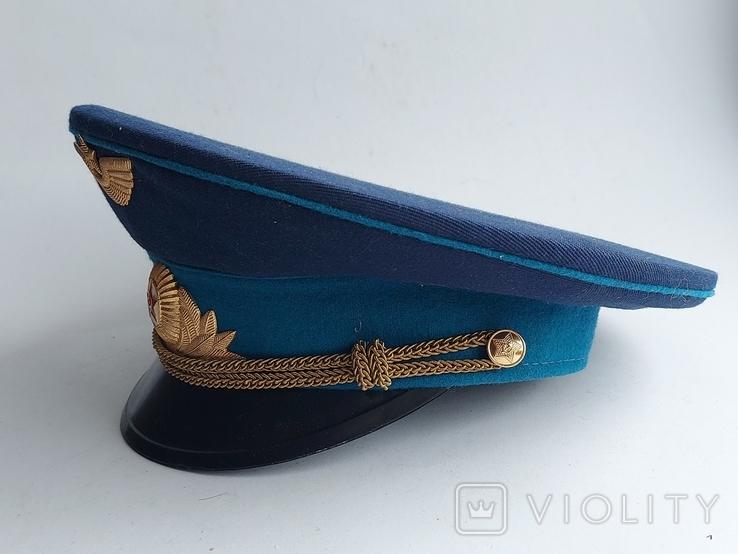 Фуражка ВВС СССР. 55 размер., фото №3