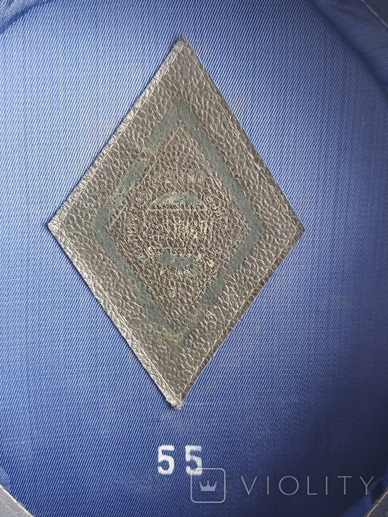 Фуражка ВВС СССР. 55 размер., фото №6