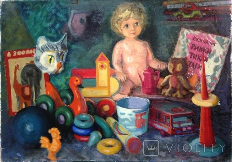 Анины игрушки Золотарев Евгений Николаевич (1930-2001), фото №3