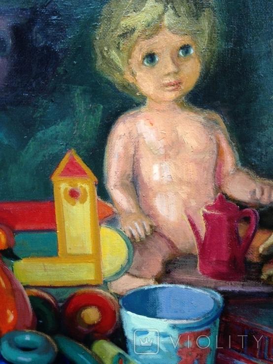Анины игрушки Золотарев Евгений Николаевич (1930-2001), фото №4