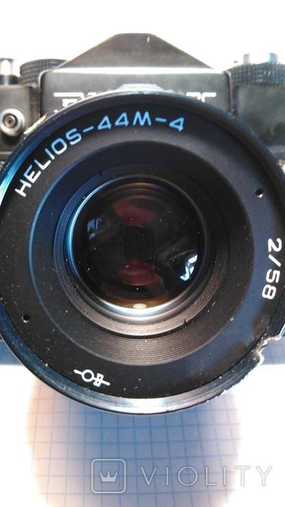 Фотоаппарат Зенит 12 сд с объективом HELIOS-44М-4 (Гелиос) + футляр, фото №11