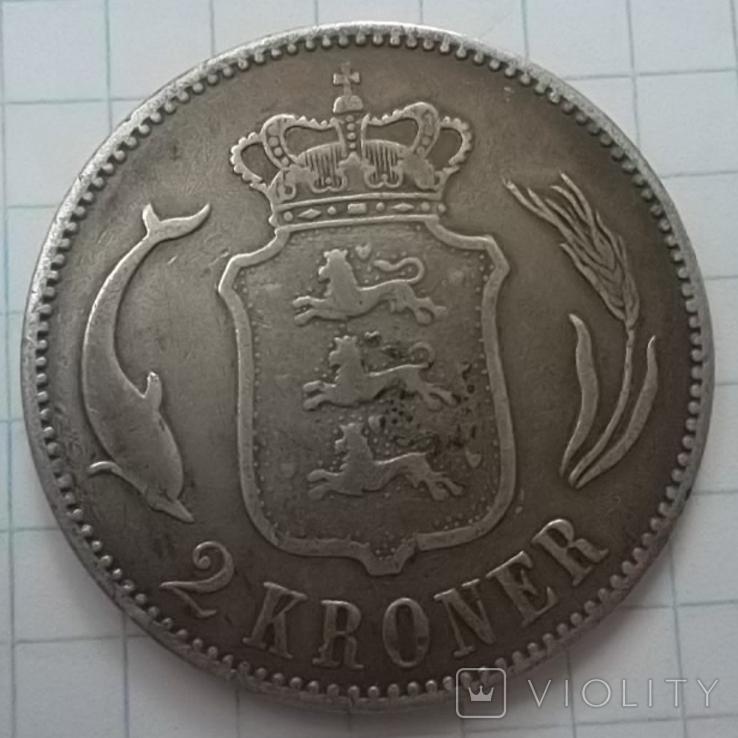 Дания 2 кроны, 1875, фото №4