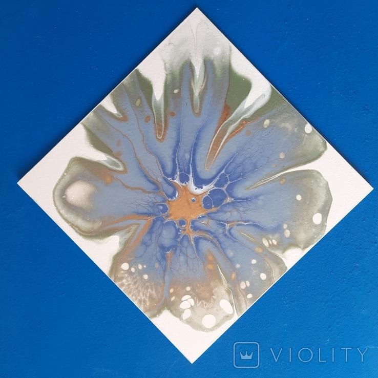 Картина/ живопис/ абстракція Fluid Art #78 acrylic, фото №8