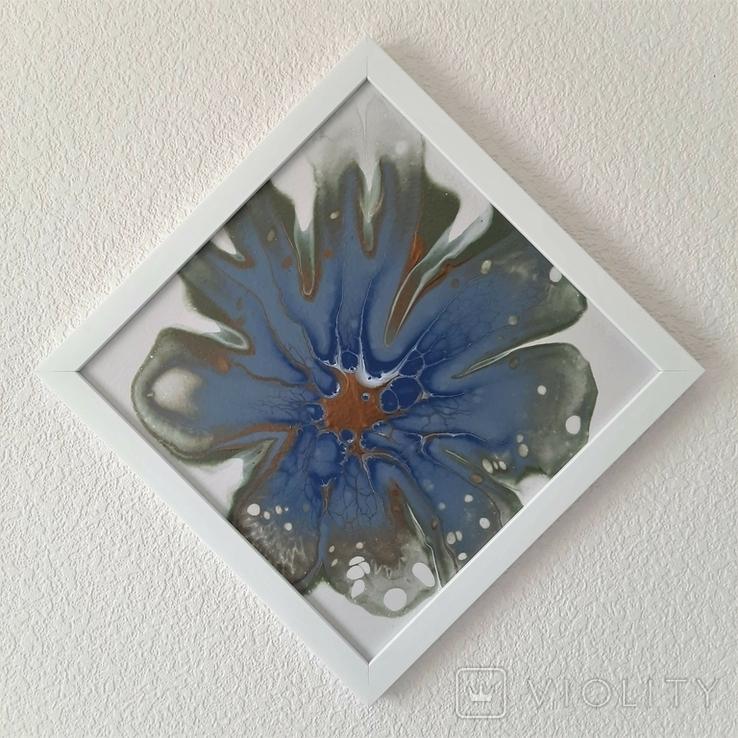 Картина/ живопис/ абстракція Fluid Art #78 acrylic, фото №10