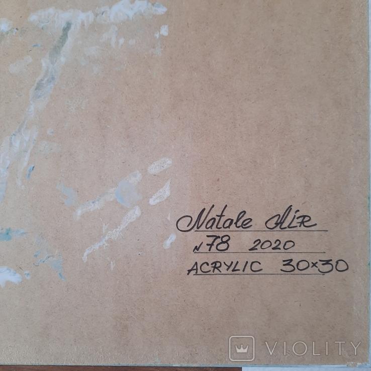Картина/ живопис/ абстракція Fluid Art #78 acrylic, фото №13