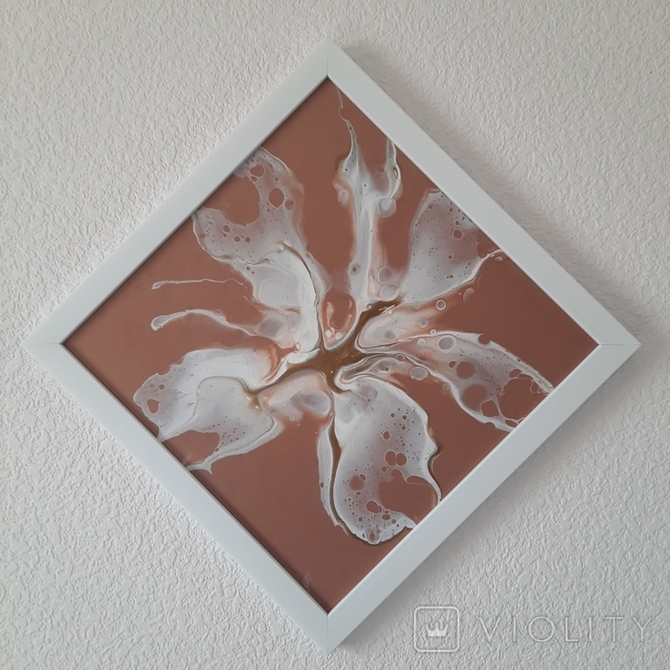Картина/ живопис/ абстракція Fluid Art #79 acrylic, фото №8