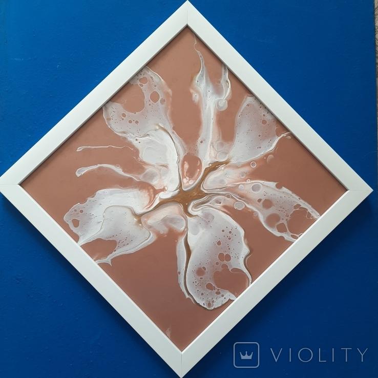 Картина/ живопис/ абстракція Fluid Art #79 acrylic, фото №9