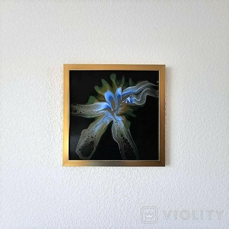 Картина/ живопис/ абстракція Fluid Art #81 acrylic, фото №12