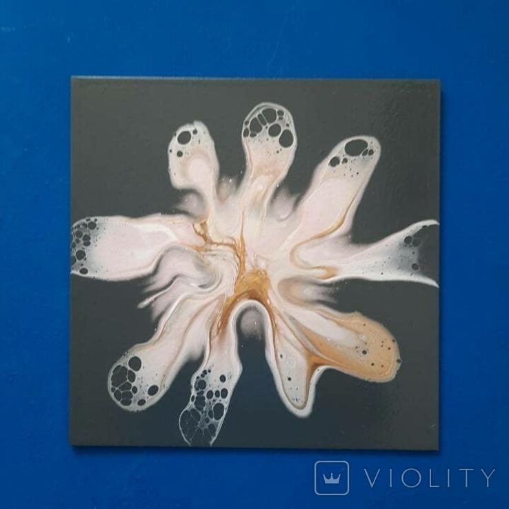 Картина/ живопис/ абстракція Fluid Art #82 acrylic, фото №8