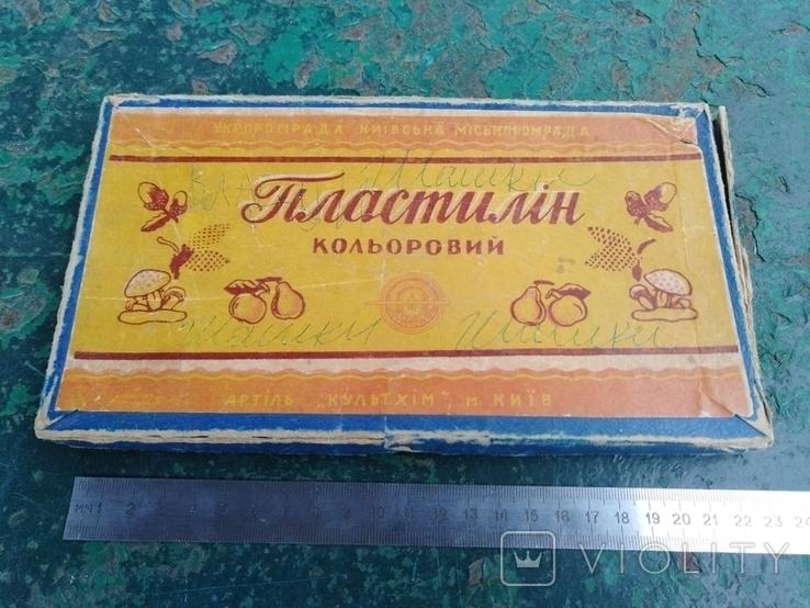 """Картонная коробка """"Пластилiн кольоровий""""., фото №11"""