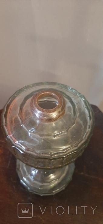 Стеклянный низ от лампы, фото №5