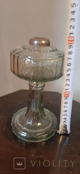 Стеклянный низ от лампы, фото №6