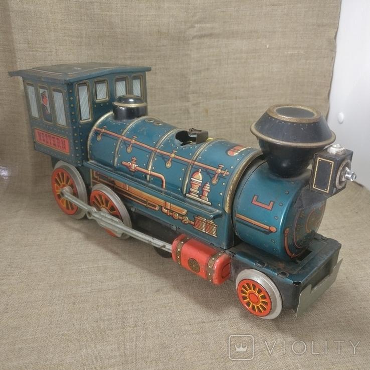 Паравоз Modern toys Japan большой 30см, фото №2
