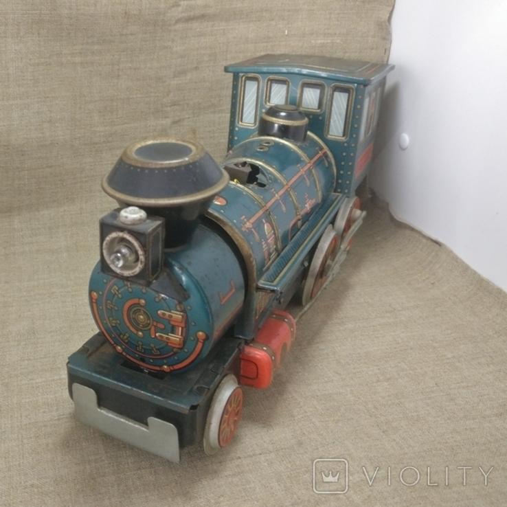 Паравоз Modern toys Japan большой 30см, фото №3