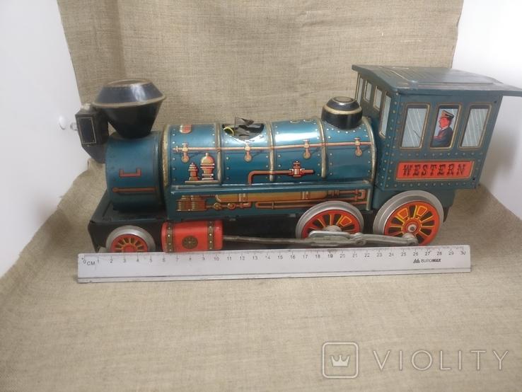 Паравоз Modern toys Japan большой 30см, фото №8