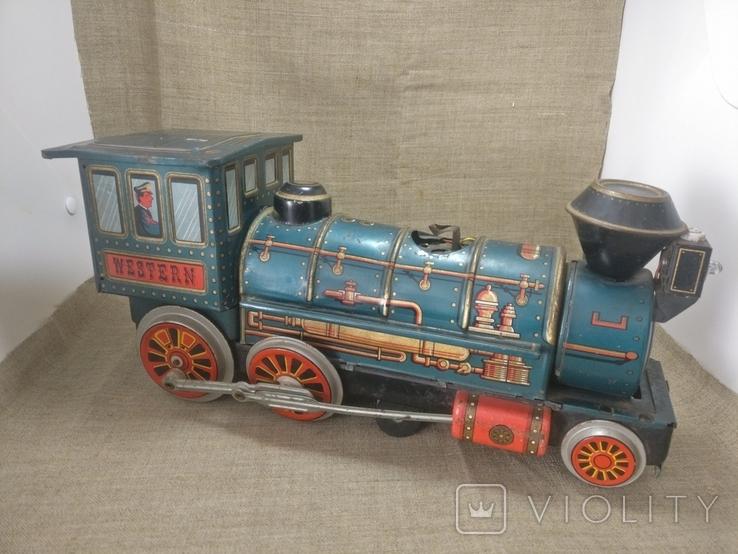 Паравоз Modern toys Japan большой 30см, фото №10