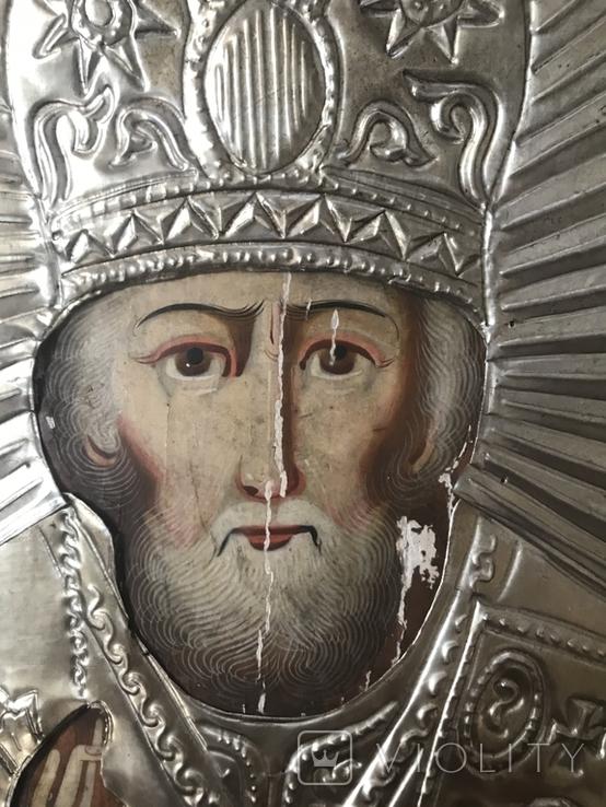 Икона Святой Николай, фото №13