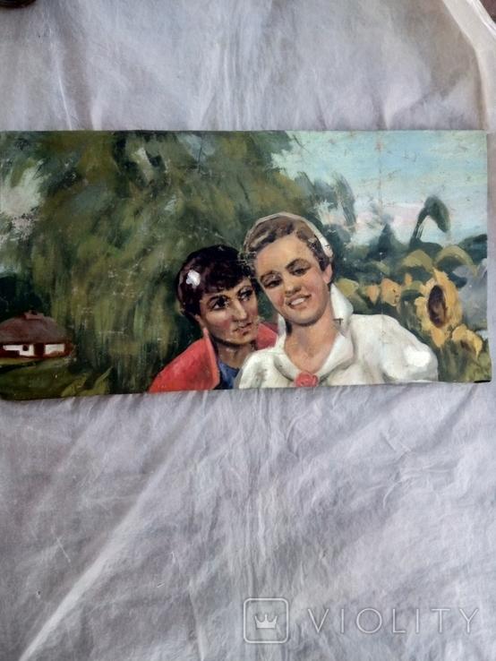 Картина хлопець з дівчиною., фото №2