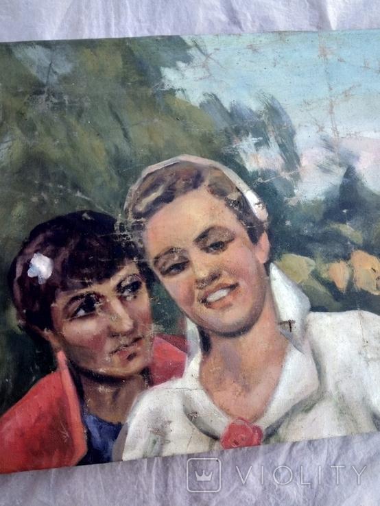 Картина хлопець з дівчиною., фото №5
