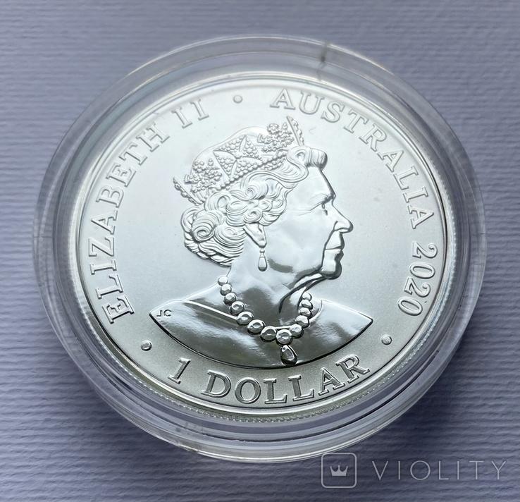 1-я монета в серии Красноспинный паук Австралия лот 2, фото №8