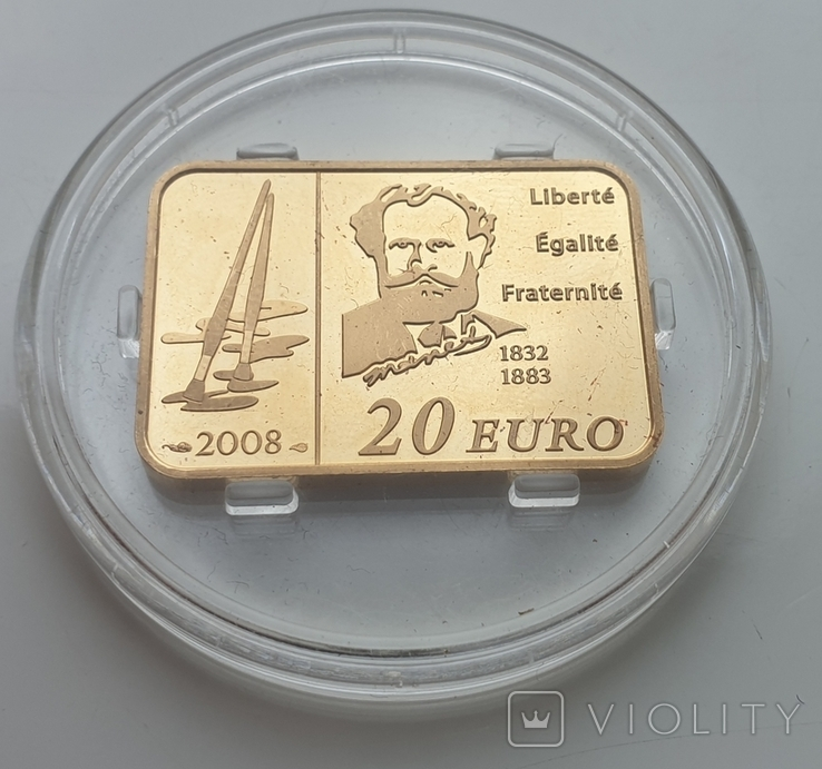 20евро, 2008 - Франция тираж 500 шт., фото №2