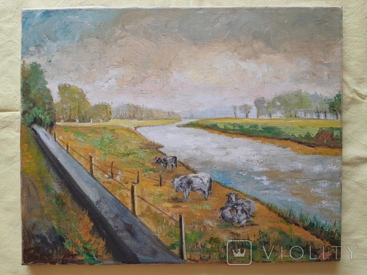 Провінція в Англії 50Х40, фото №2