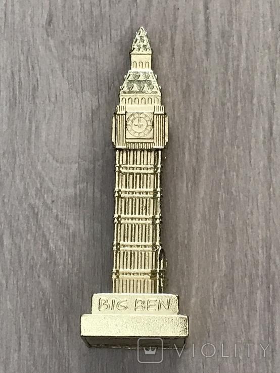 Настольный сувенир Биг Бен. Лондон, 10,5см т/м б/у, фото №2