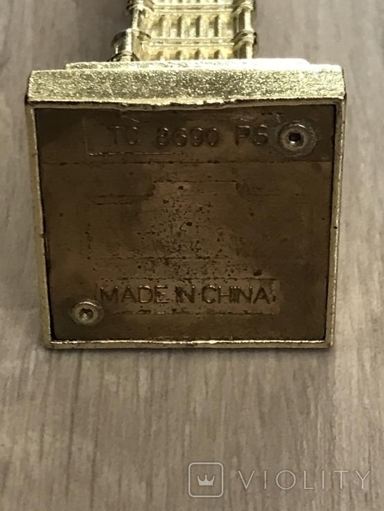 Настольный сувенир Биг Бен. Лондон, 10,5см т/м б/у, фото №7