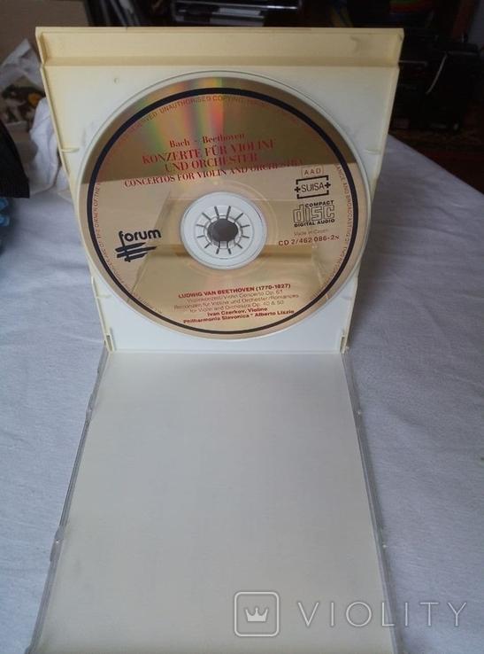 "Из Германии! 2CD""Золотой"" Bach Beethoven, Philharmonia Slavonica, Alberto Lizzio Konzerte, фото №4"
