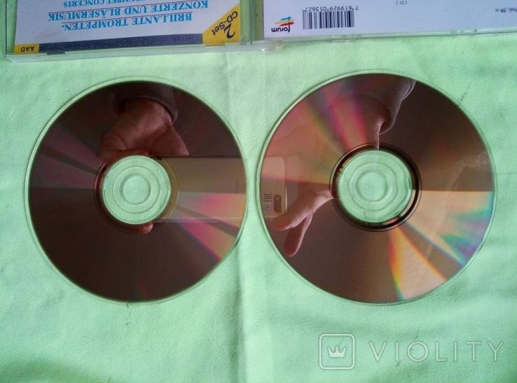 "Из Германии! 2CD ""Золотой"" Brilliant Trumpet Concerts and for wings, фото №5"
