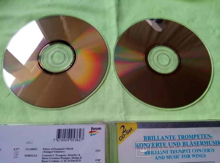 "Из Германии! 2CD ""Золотой"" Brilliant Trumpet Concerts and for wings, фото №6"