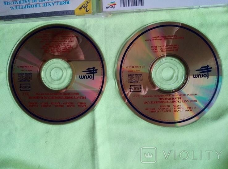 "Из Германии! 2CD ""Золотой"" Brilliant Trumpet Concerts and for wings, фото №7"