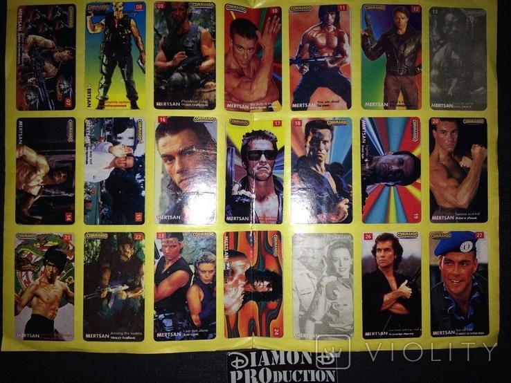 Не чистий альбом Commando Mertsan № 5 з наклейками, фото №3