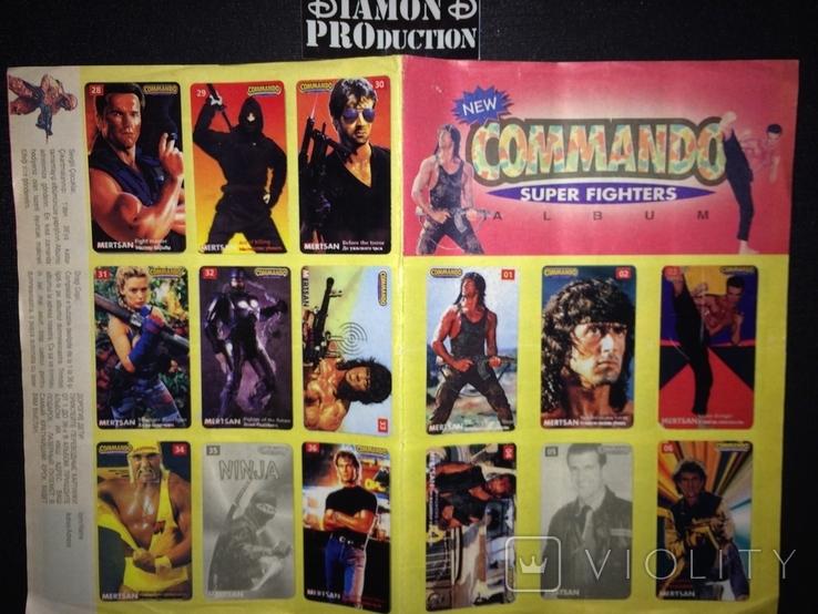 Не чистий альбом Commando Mertsan № 5 з наклейками, фото №2