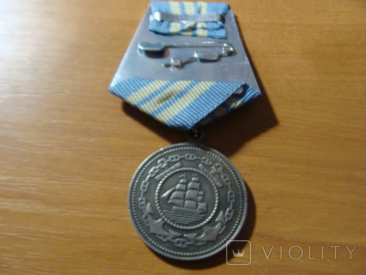 Медаль Адмирал Нахимов медаль Нахимова копия, фото №4