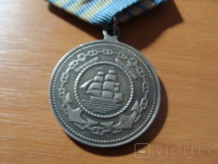 Медаль Адмирал Нахимов медаль Нахимова копия, фото №5