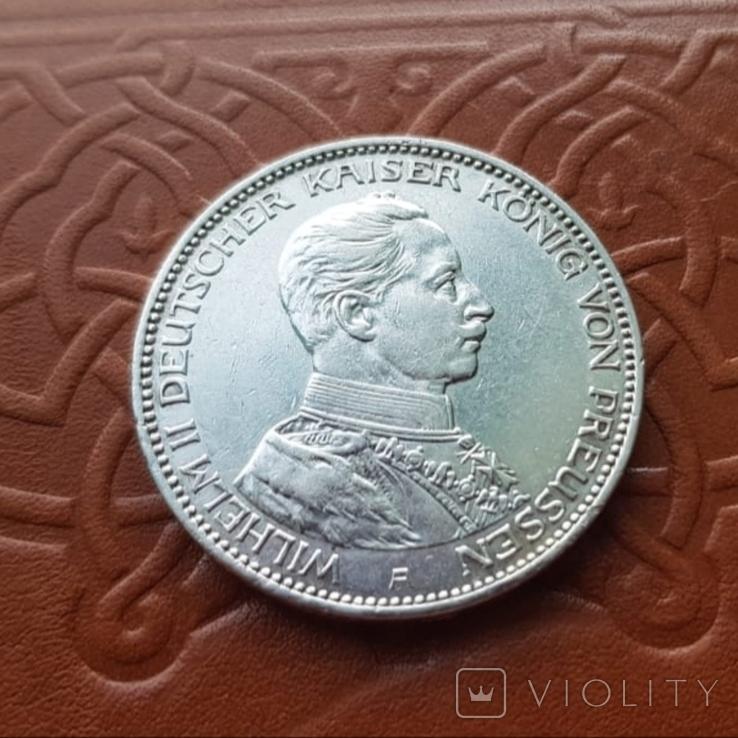 3 марки 1914 Пруссия мундир, фото №8