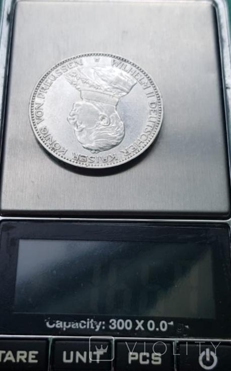 3 марки 1914 Пруссия мундир, фото №9