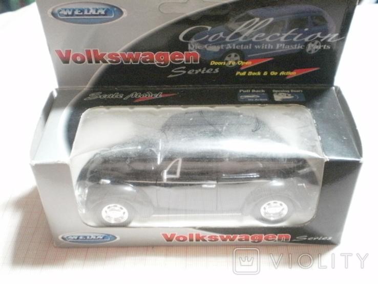 Модель автомобиля Volkswagen Beetle, фото №2
